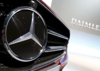 File Photo Of Mercedes Benz Logo Pictured Before Company's Annual News Conference In Stuttgart